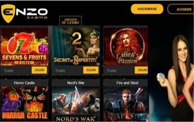 Enzo Casino da hasta 100 euros por giros gratis