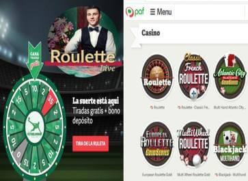 Casino Paf bono apuesta segura de retorno hasta de 20 euros