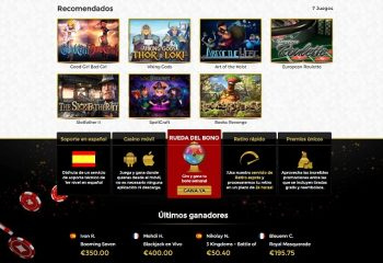 unique casino juegos